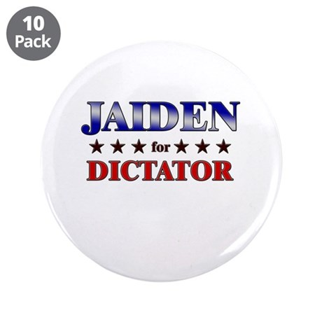 """JAIDEN for dictator 3.5"""" Button (10 pack)"""