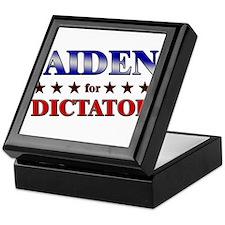 JAIDEN for dictator Keepsake Box