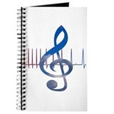 Music therapy Journals & Spiral Notebooks