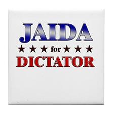 JAIDA for dictator Tile Coaster