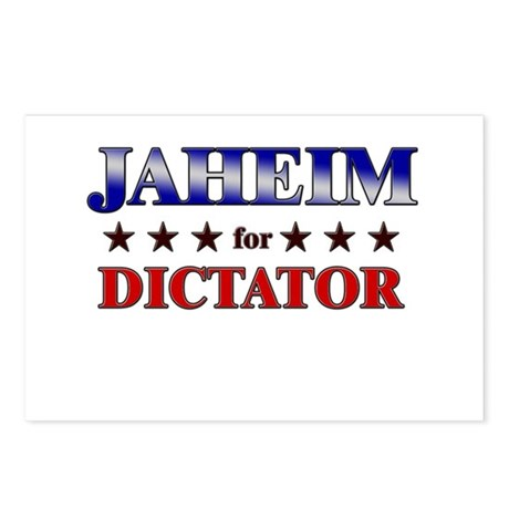 JAHEIM for dictator Postcards (Package of 8)