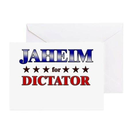 JAHEIM for dictator Greeting Cards (Pk of 20)