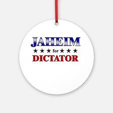 JAHEIM for dictator Ornament (Round)