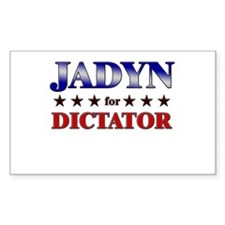 JADYN for dictator Rectangle Decal
