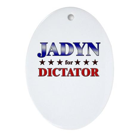 JADYN for dictator Oval Ornament