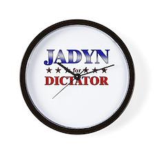 JADYN for dictator Wall Clock