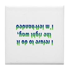 Cute Sinister Tile Coaster