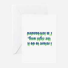 Cute Left handed Greeting Cards (Pk of 10)