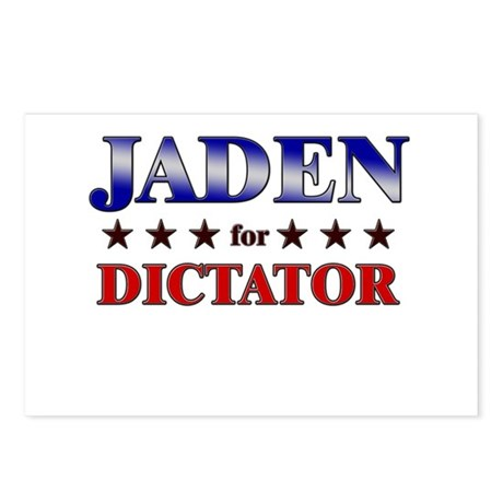 JADEN for dictator Postcards (Package of 8)