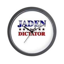 JADEN for dictator Wall Clock