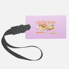 Gilmore Girls Autumn Luggage Tag
