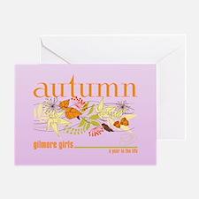Gilmore Girls Autumn Greeting Card
