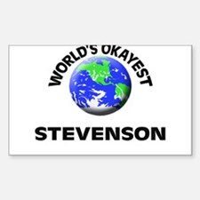 World's Okayest Stevenson Decal