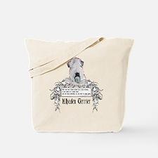 Wheaten Terrier Irish Proverb Tote Bag