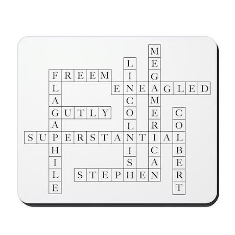 Colbert Crossword (1) Mousepad