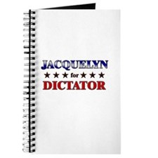 JACQUELYN for dictator Journal