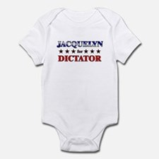 JACQUELYN for dictator Onesie