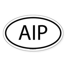 AIP Oval Decal