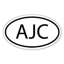 AJC Oval Decal