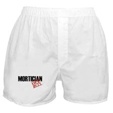 Off Duty Mortician Boxer Shorts