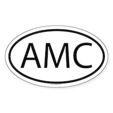 AMC Oval Decal