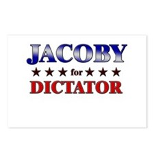 JACOBY for dictator Postcards (Package of 8)
