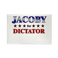 JACOBY for dictator Rectangle Magnet