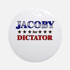 JACOBY for dictator Ornament (Round)