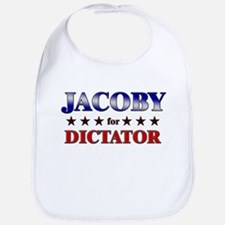 JACOBY for dictator Bib