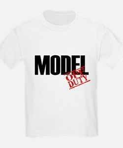 Off Duty Model T-Shirt