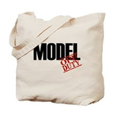 Off Duty Model Tote Bag