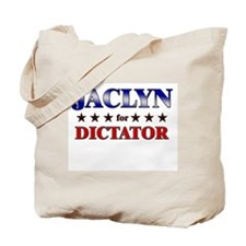 JACLYN for dictator Tote Bag