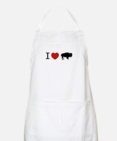 I LOVE BUFFALO BBQ Apron