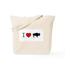 I LOVE BUFFALO Tote Bag