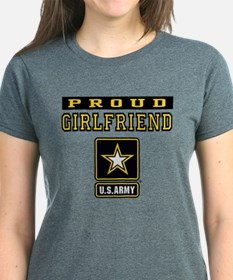 Proud Girlfriend U.S. Army T-Shirt