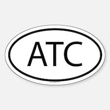 ATC Oval Decal