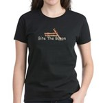 Bite The Bacon Women's Dark T-Shirt