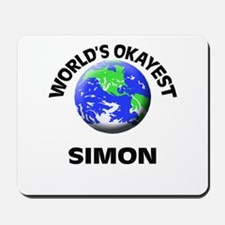 World's Okayest Simon Mousepad