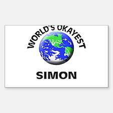 World's Okayest Simon Decal