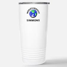 World's Okayest Simmons Stainless Steel Travel Mug