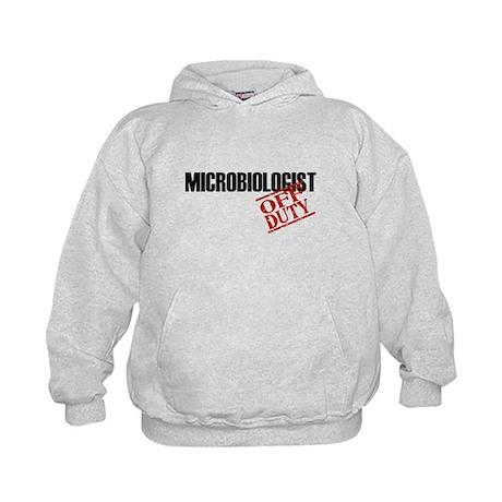 Off Duty Microbiologist Kids Hoodie