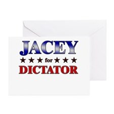 JACEY for dictator Greeting Cards (Pk of 20)