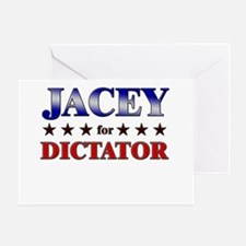 JACEY for dictator Greeting Card