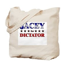 JACEY for dictator Tote Bag