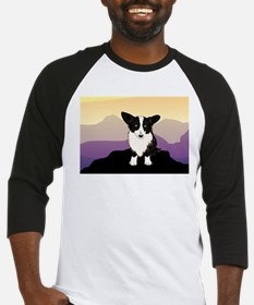 Purple Mountain Corgi Baseball Jersey
