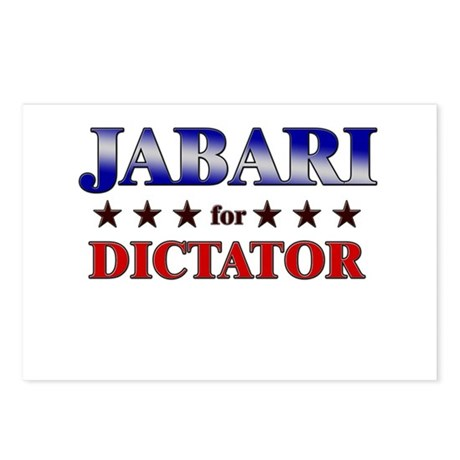 JABARI for dictator Postcards (Package of 8)