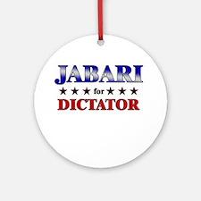 JABARI for dictator Ornament (Round)