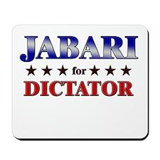 JABARI for dictator Mousepad