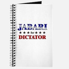 JABARI for dictator Journal