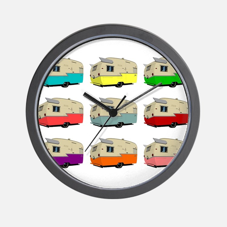 Cute Shasta Wall Clock
